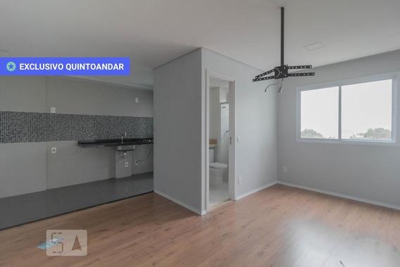 Apartamento No 4º Andar Com 1 Dormitório E 1 Garagem - Id: 892807012 - 107012
