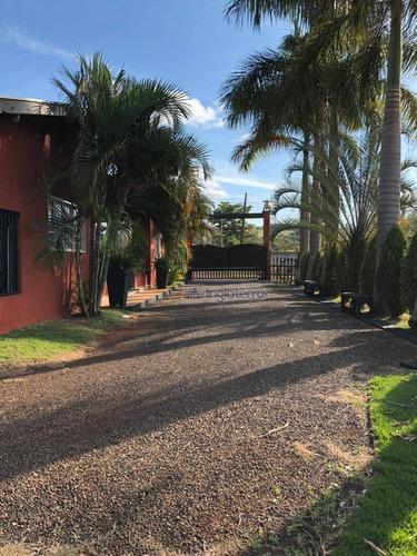 Chácara À Venda, 400 M² Por R$ 900.000,00 - Usina Três Bocas - Londrina/pr - Ch0087