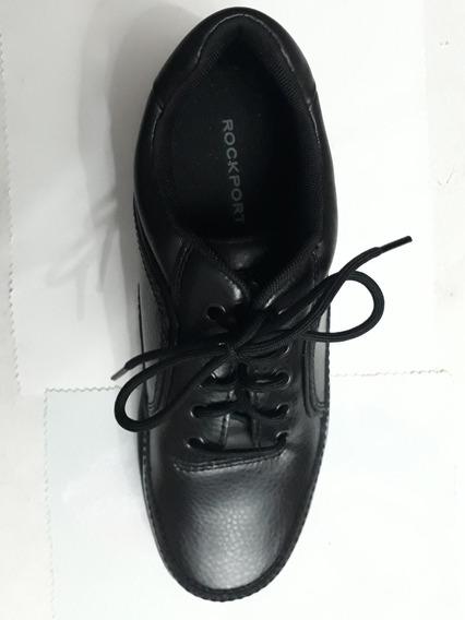 Rockport Zapato De Piel Negro 27.5