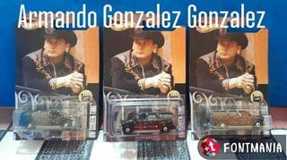 Camioneta Del Gallo De Oro Valentin Elizalde Escala 1/64