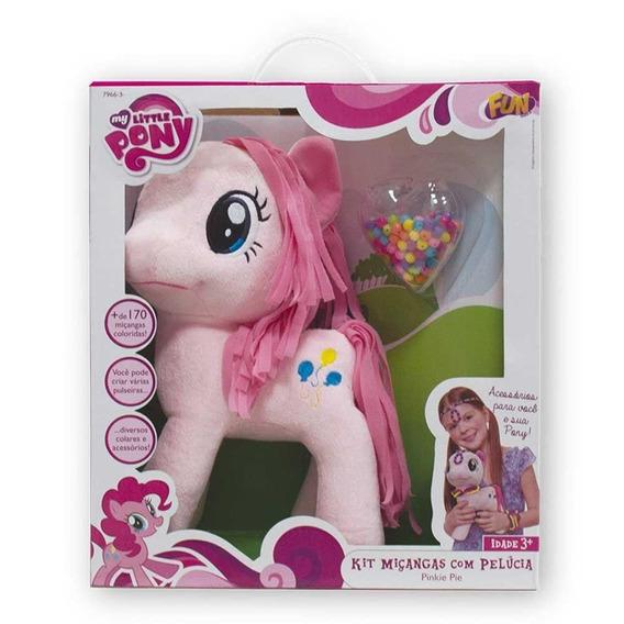 Pelúcia My Little Pony C/ Kit Miçangas - Fun - 7966-3