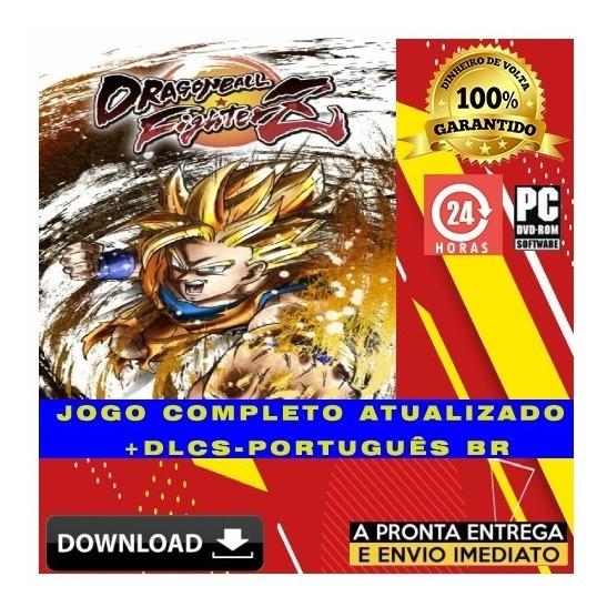 Dragon Ball Fighterz Pc Hd - Digital + Todas Dlcs + Brinde