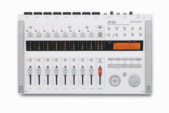 Zoom R16 Mesa Gravadora, Mixer E Interface De Áudio