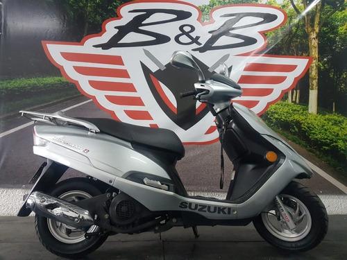 Suzuki An Burgman 125 2013 Prata