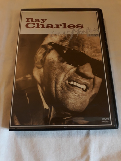 Ray Charles Live At Montreux 1997 Dvd Novo