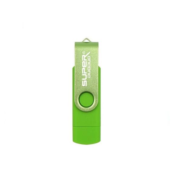 Flashdrive 2em1 Otg32gb Usb 2.0 E Micro/usb Pc/cel/pendrive