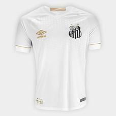 Camisa Santos Fc Umbro - Camisa Santos Masculina no Mercado Livre Brasil ac6604befd6be