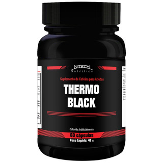 Thermo Black - 60 Cápsulas - Nitech Nutrition
