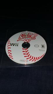 Videojuego Nintendo Wii Mario Super Sluggers Estado 10