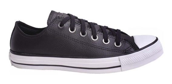 Converse Zapatilla Unisex All Star Ct Leather Ox Negro