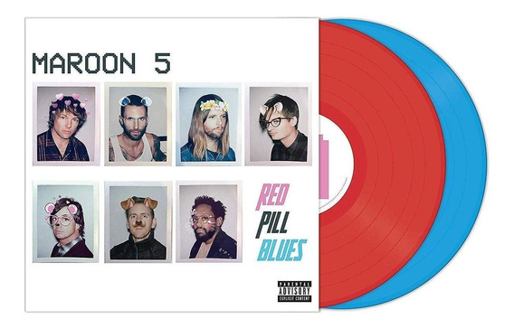 Maroon 5 Red Pill Blues Vinilo Doble Limitado Color Imp