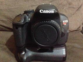 Canon T5i + Grip Aputure + 2 Baterias + Flash 430 Ex