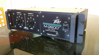 Amplificador Potencia Peavey 2600 Chiquibun Audio Vintage
