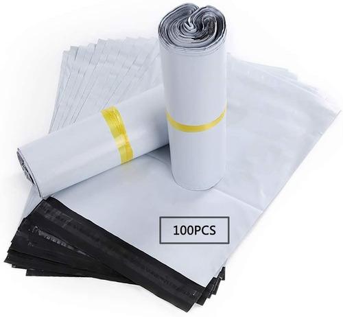 X100 Bolsas Sobre Ecommerce 20x35cm Biodegradable Courier