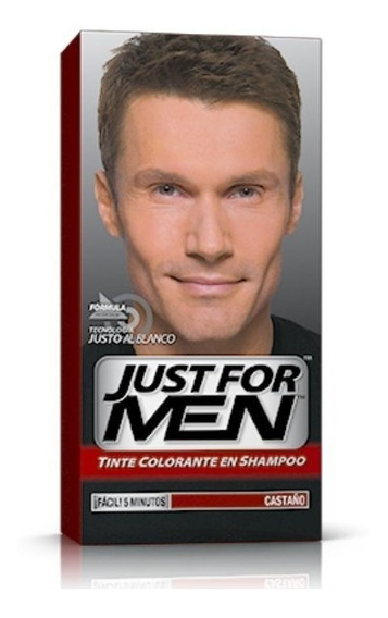 Just For Men Tintura En Shampoo Para Cabello Cubre Canas