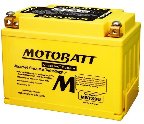 Bateria Motobatt Ytz14s Yamaha Xvs950 Midnight Star Mbtx9u