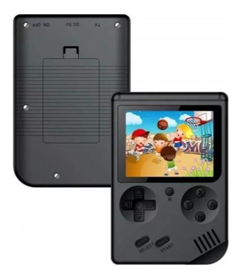 Vídeo Game Portátil 400 Jogos Internos Mini Game Sup Preto
