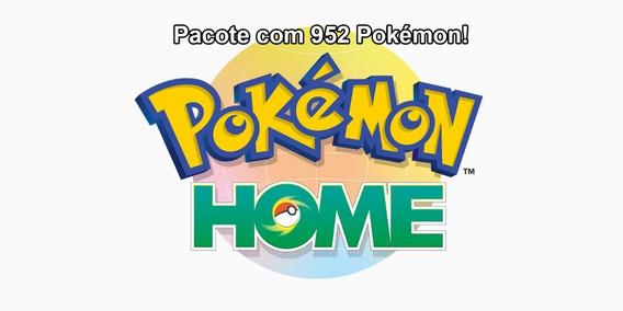 Pacote 952 Pokemon Pokemon Home Switch