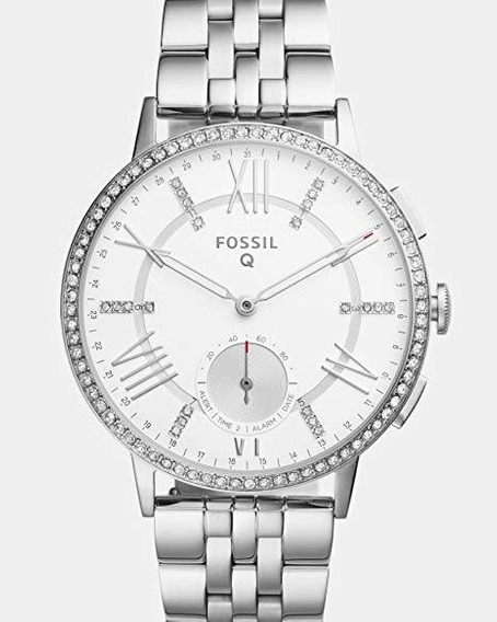 Reloj Fossil Ftw1105 Para Unisex Ext De Acero