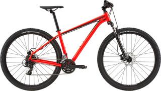Bicicleta Cannondale Trail 7 Vermelho 24 V Tam M