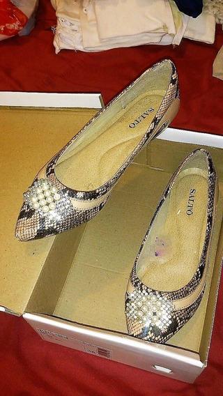 Chatitas Ballerinas Stilettos Importadas Zara-sarkany-paruol