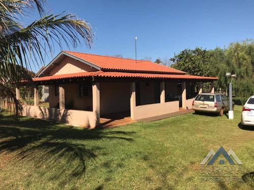Chácara Com 3 Dormitórios À Venda, 2000 M² Por R$ 290.000,00 - Gaspareto - Alvorada Do Sul/pr - Ch0118