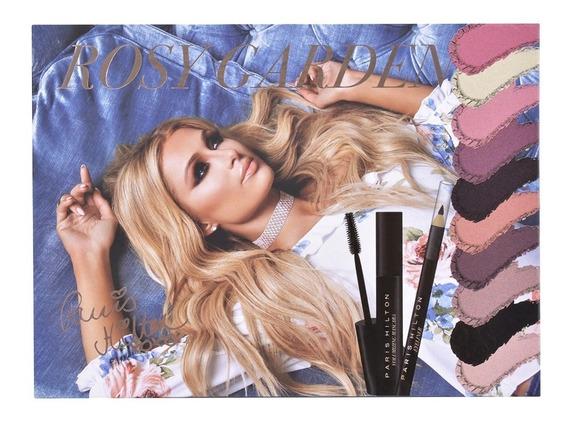 Paris Hilton Rosy Garden Paleta Para Ojos Y Mejillas