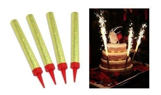 50 Velas Para Pastel De Cumpleaños Fiesta Chispero Magicas