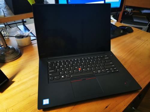 Imagen 1 de 9 de Lenovo Thinkpad X1 Extreme I7-8850h 4k 32gb 2tb Nvme Gtx1050
