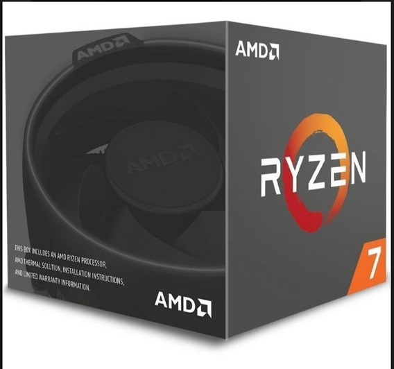 Amd Ryzen 7 2700 Cpu 3.2 Ghz Oito-core Dezesseis-thread
