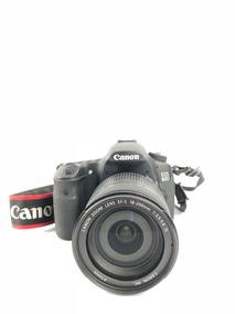 Câmera Fotográfica Dslr 60d Canon Com Lente 18-200mm