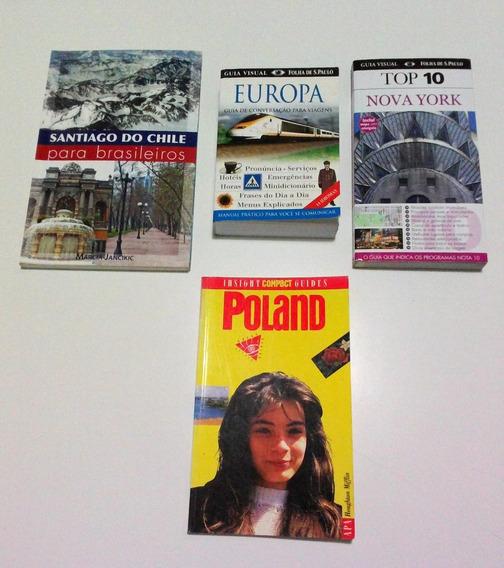 Livros Europa Guia Conversação Viagens+guide Poland+ 2 Guias