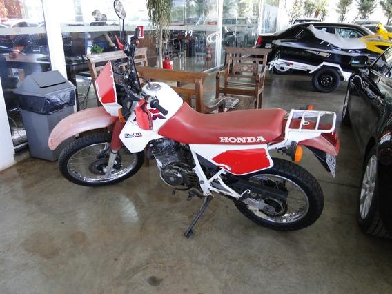 Honda Xlx 350, 1989, Branca, Impecável, Apenas 15.000km Orig