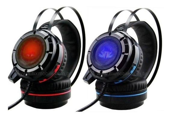 Fone Pc Gamer Headset 7.1 Bass Vibration Gamer 7.1 Kp-417
