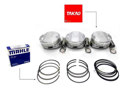 Imagem 1 de 2 de Pistao Com Anéis Stander 1.0 12v Ford Novo Ka 3 Cilindros