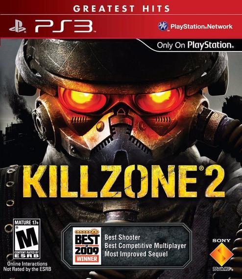 Jogo Killzone 2 Playstation 3 Ps3 Platinum Frete Grátis!