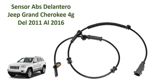 Sensor Abs Delantero Jeep Grand Cherokee 4g Del 2011 Al 2016