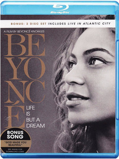 Blu-ray Beyonce Life Is But A Dream & Live In Atlantic City