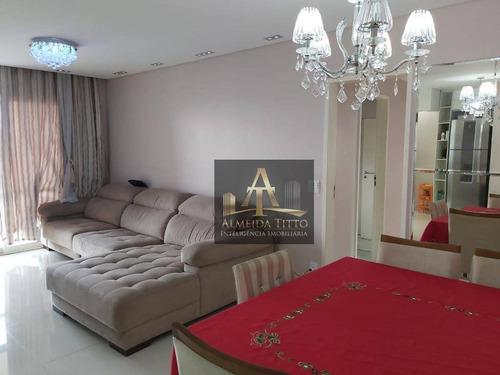 Imagem 1 de 30 de Belíssimo Apartamento Com 119 M² No Condomínio Alto Da Mata - Confira! - Ap2751