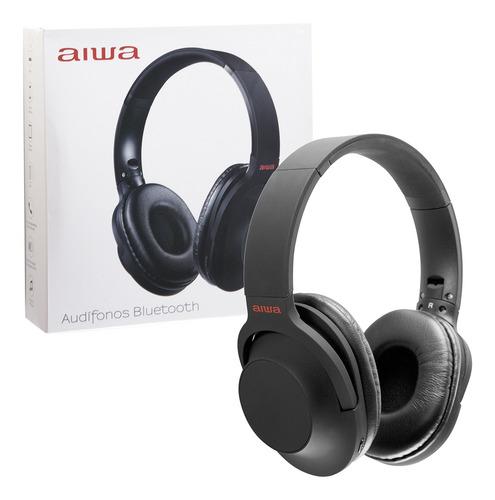 Imagen 1 de 1 de Audífonos Aiwa Aw-207 On-ear Bluetooth Micrófono