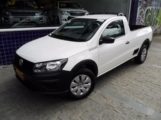 Vw Saveiro Msi Robust Cs 2017 Flex Branca Completa 8000 Km