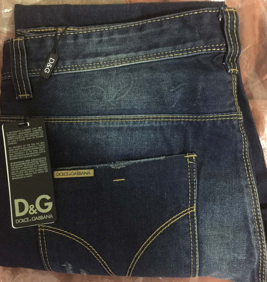 Jean Dolce & Gabbana Made In Italy Talle 36 D & G