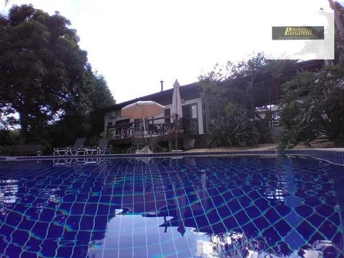 Casa Com 3 Dormitórios À Venda, 420 M² Por R$ 1.790.000,00 - Condomínio Vista Alegre - Sede - Vinhedo/sp - Ca2558