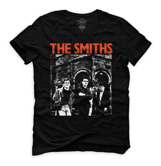 Playeras Rock City The Smiths Morrissey New Order The Cure