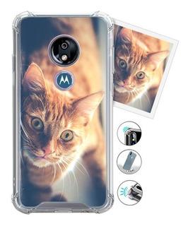 Funda Tpu Antigolpe Motorola Personalizado Con Tu Imagen