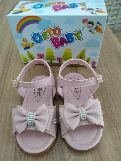 Sandalia Infantil Feminina Ortobaby