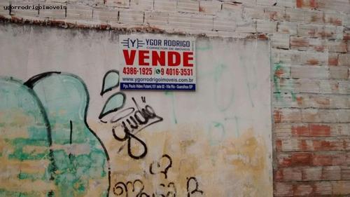 Imagem 1 de 15 de Terreno Para Venda Em Guarulhos, Santa Mena - 1858ok_1-829532