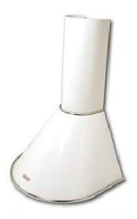 Campana Anderson De Cocina Vacia Blanca Semicircular