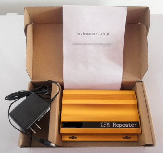 Amplificador De Señal Móvil Digitel Gsm/2g 3g/h+ Sin Antenas