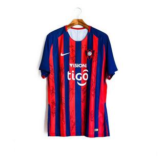 Camisa De Futebol Masculino Cerro Porteño 2018 Nike   Rojas